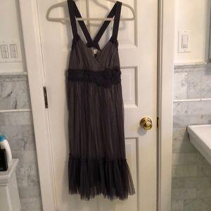 Sweet feminine Moulinette Soeurs grey dress Size 4